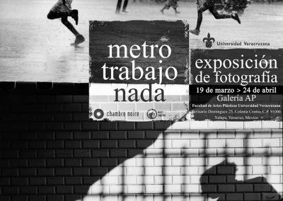 Affiche exposition Chambre noire - Veracruz - Mexique