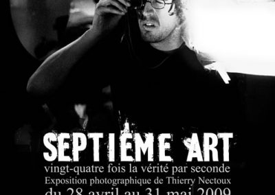 Affiche - exposition Thierry Nectoux - 7e art - Villemomble