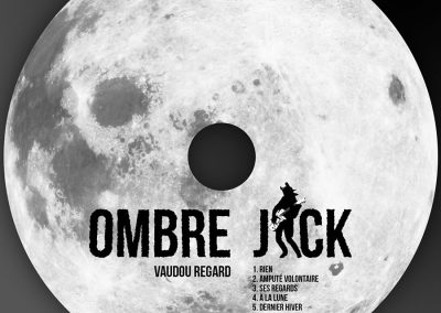 Logo - Sérigraphie mini CD Ombre Jack