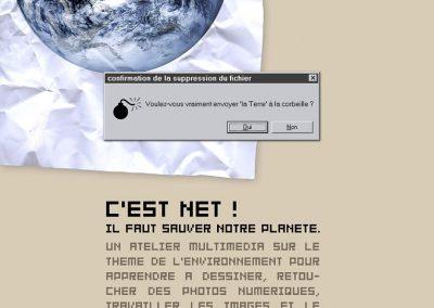 Affiche pour l'espace Landowski - Boulogne Billancourt