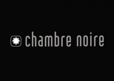 Logo du collectif photo Chambre noire